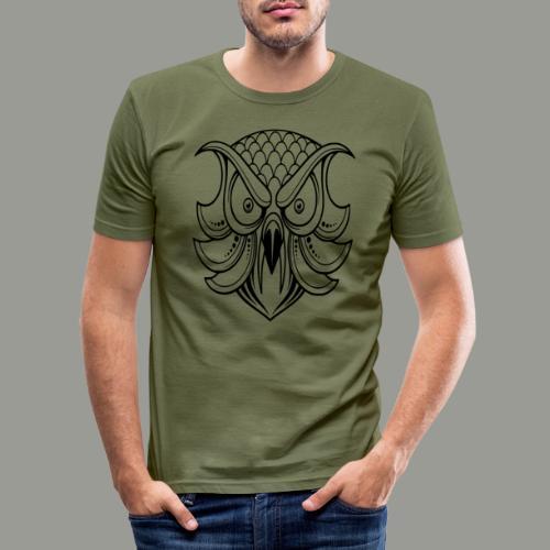 hibou - T-shirt près du corps Homme