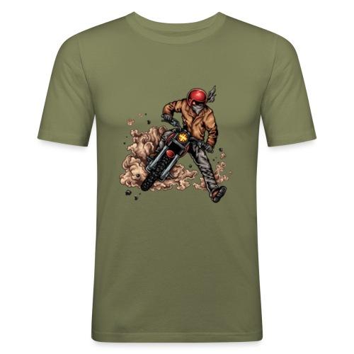 Motor bike racer - Men's Slim Fit T-Shirt