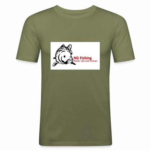 ng fishing logo new - Men's Slim Fit T-Shirt