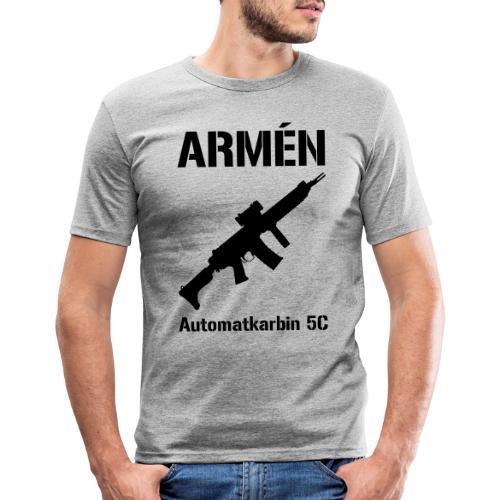 ARMÈN - Ak 5C - Slim Fit T-shirt herr