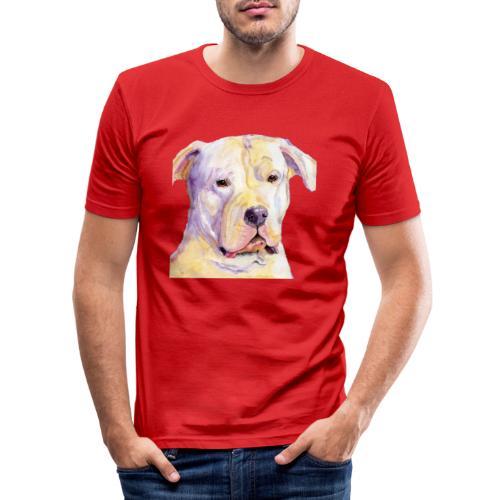 dogo argentino - Herre Slim Fit T-Shirt