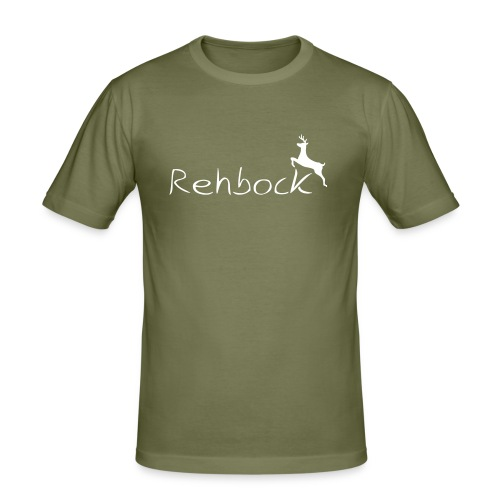 Rehbock - Männer Slim Fit T-Shirt