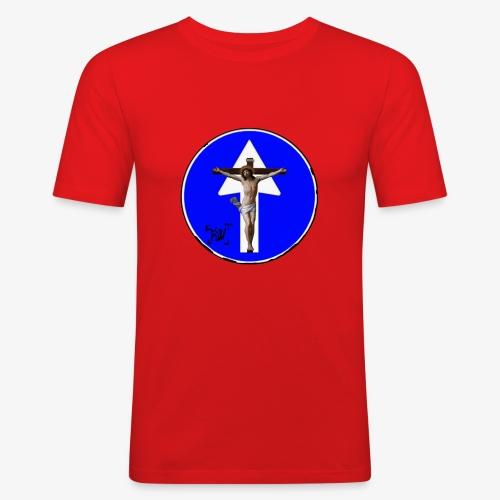 Gesù - Maglietta aderente da uomo