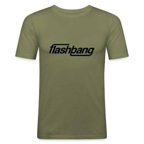 FlashBang Enkel - 100kr Donation - Slim Fit T-shirt herr
