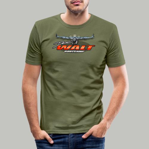 DocWalt / DoubleBrand (2fach-Logo Variante) - Männer Slim Fit T-Shirt