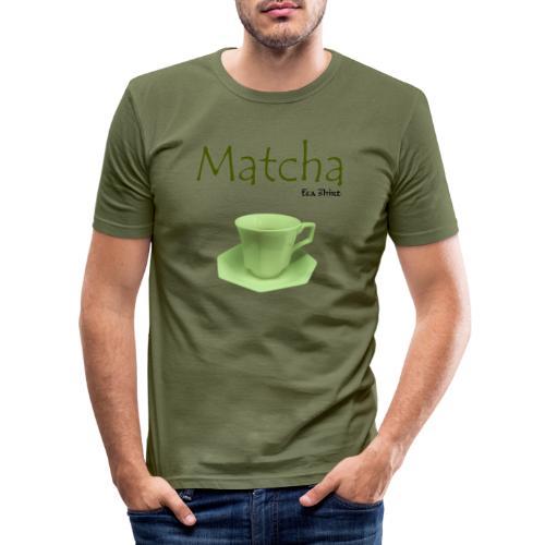 Matcha Tea Shirt - Men's Slim Fit T-Shirt