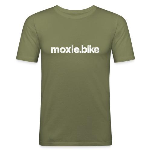 moxie.bike contour lines - Men's Slim Fit T-Shirt