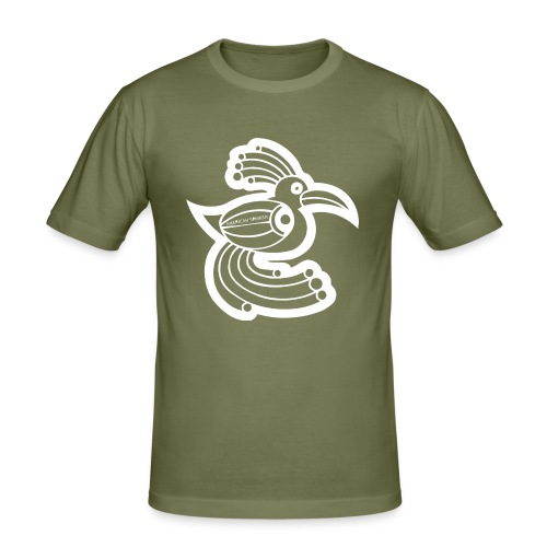 American spanish ave étnica - Camiseta ajustada hombre