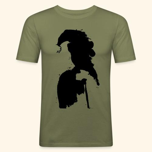 swag - Mannen slim fit T-shirt