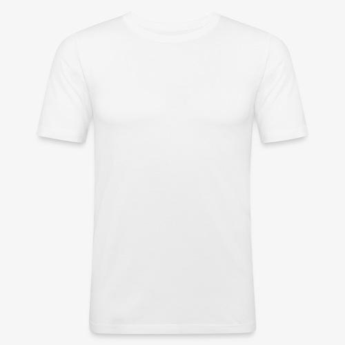logo plume white - T-shirt près du corps Homme