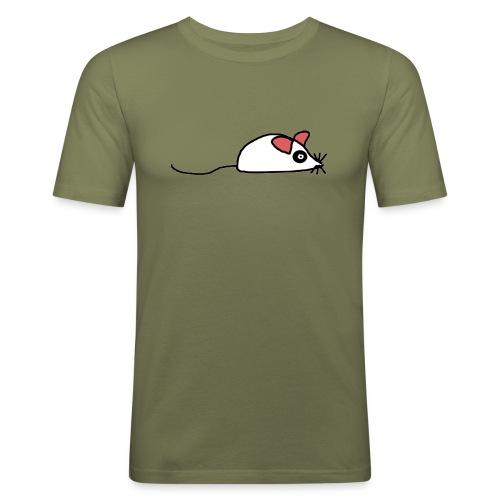 maus Ratte Mäuschen - Männer Slim Fit T-Shirt
