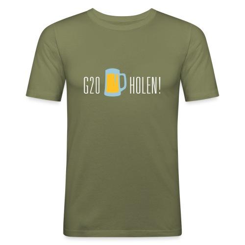 diggaladen gegeng20 bier holen - Männer Slim Fit T-Shirt