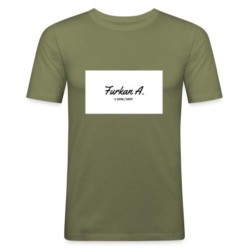 Furkan A - Drinkfles - slim fit T-shirt