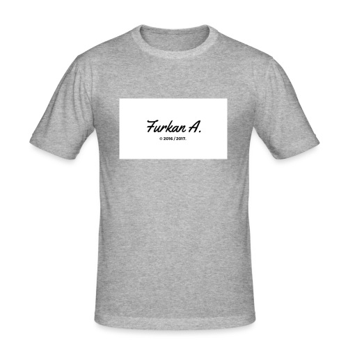 Furkan A - Drinkfles - Mannen slim fit T-shirt