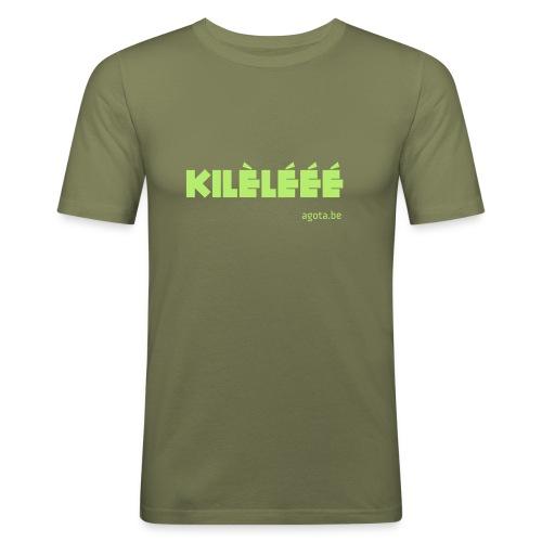 kilelee - T-shirt près du corps Homme