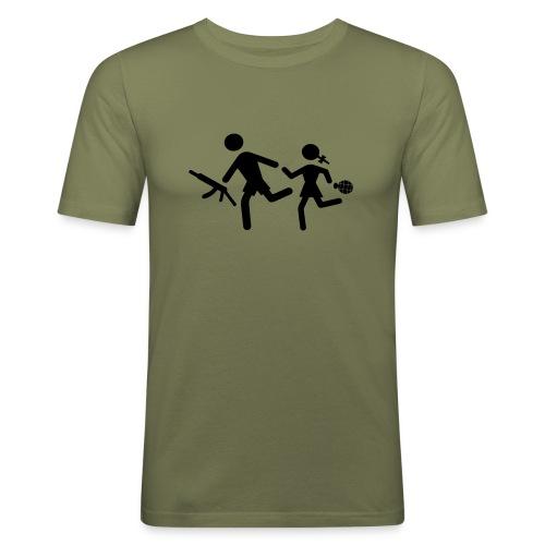 Child soldiers - Men's Slim Fit T-Shirt