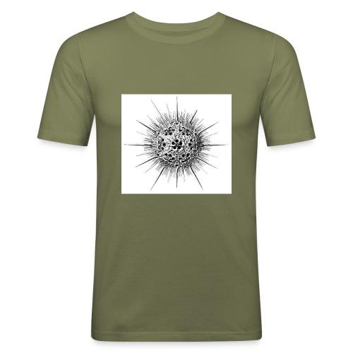 cell - Men's Slim Fit T-Shirt