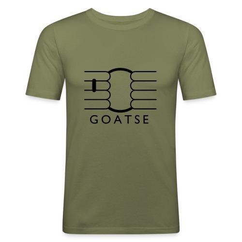 Goatse Light fabric - Men's Slim Fit T-Shirt