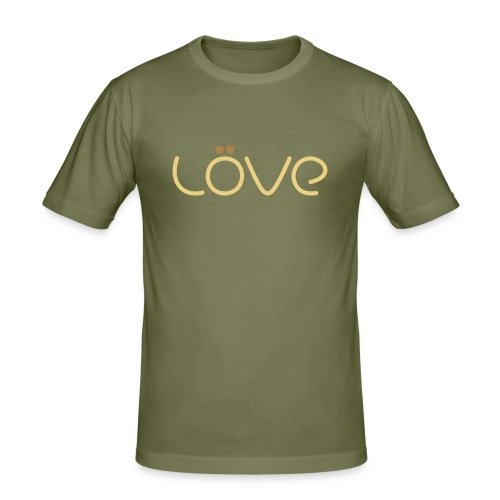 LÖVE - Men's Slim Fit T-Shirt