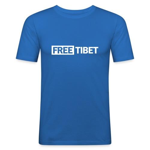 freetibet2 - Männer Slim Fit T-Shirt