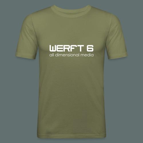 werft6all dimensional media - Männer Slim Fit T-Shirt