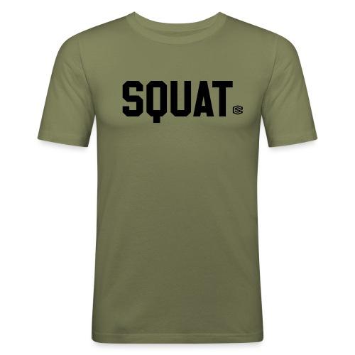 squat - Slim Fit T-shirt herr
