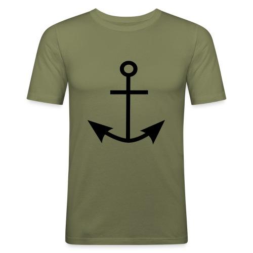 ANCHOR CLOTHES - Men's Slim Fit T-Shirt