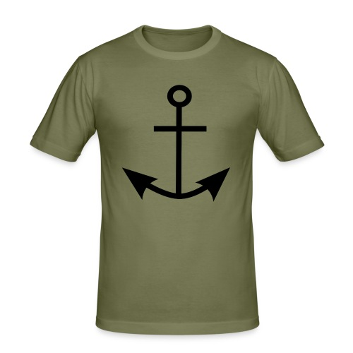 ANCHOR CLOTHES - Men's Slim Fit T-Shirt