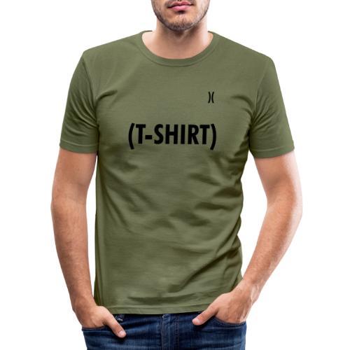 IN-BRACKETS (T-SHIRT) - Maglietta aderente da uomo
