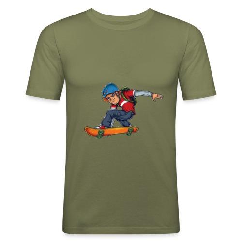Skater - Men's Slim Fit T-Shirt