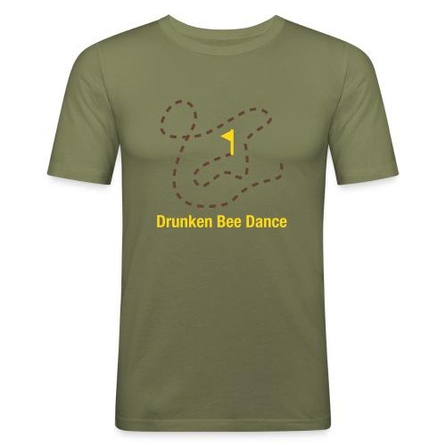 Drunken Bee Dance - Boys Shirt - Männer Slim Fit T-Shirt
