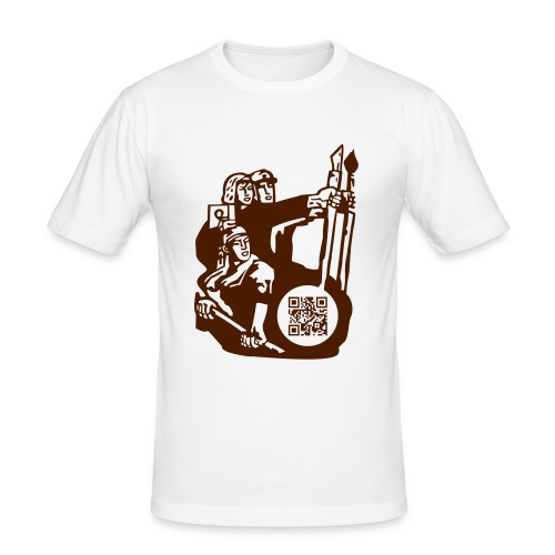 create in common - Camiseta ajustada hombre