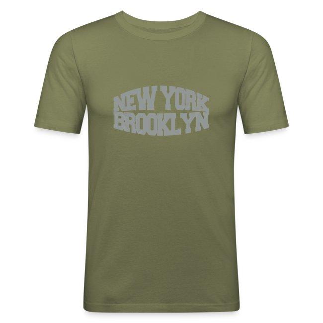 t skjorte butikk   new york brooklyn Kontrast T skjorte