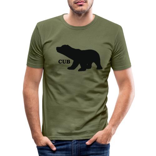 Bear Cub - Men's Slim Fit T-Shirt