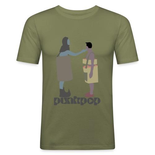 True Faith PunkPop - Maglietta aderente da uomo