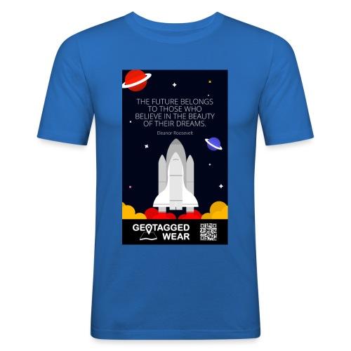 Rocket Science Men - Männer Slim Fit T-Shirt