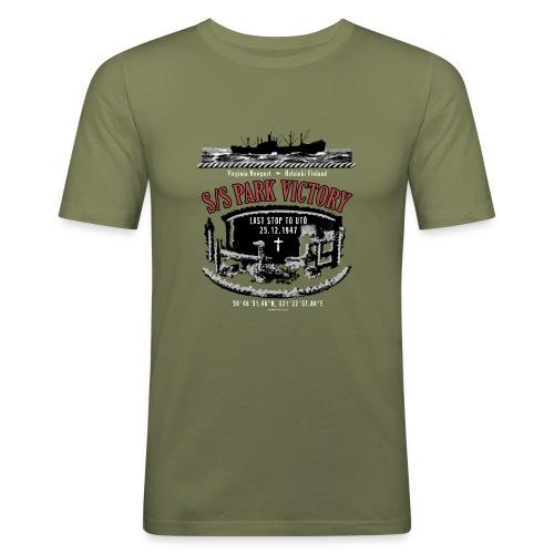 PARK VICTORY LAIVA - Tekstiilit ja lahjatuotteet - Miesten tyköistuva t-paita