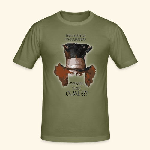 CUAL ES - Camiseta ajustada hombre