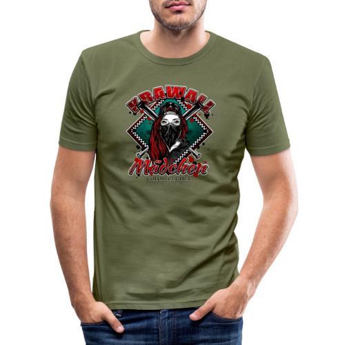 Krawallmädchen - Männer Slim Fit T-Shirt
