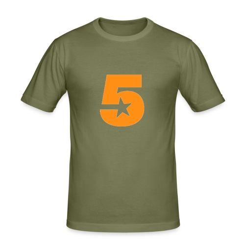 No5 - Men's Slim Fit T-Shirt