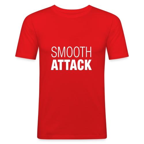 Smooth Attack neg png - Männer Slim Fit T-Shirt
