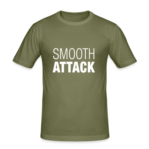 Smooth Attack neg png - Männer Slim Fit T-Shirt