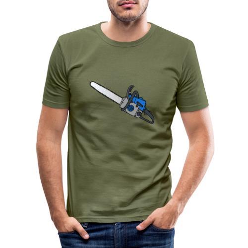 Kettensäge - Männer Slim Fit T-Shirt