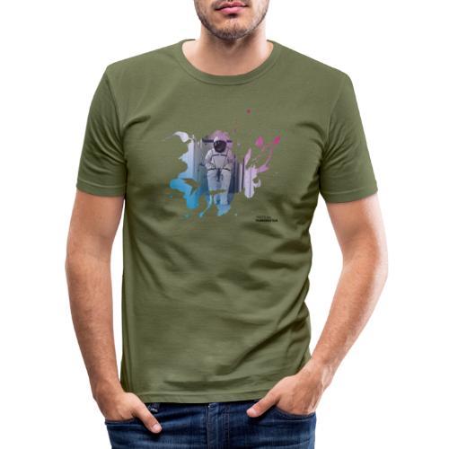 Fortschritt 4 s - Männer Slim Fit T-Shirt