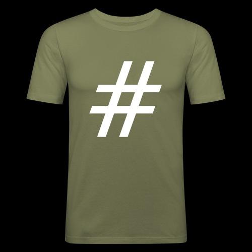 Hashtag Team - Männer Slim Fit T-Shirt