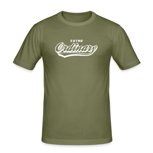 Extra Ordinary - Slim Fit T-shirt herr