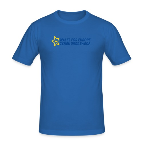 Peoples Vote Remain in EU - Miesten tyköistuva t-paita