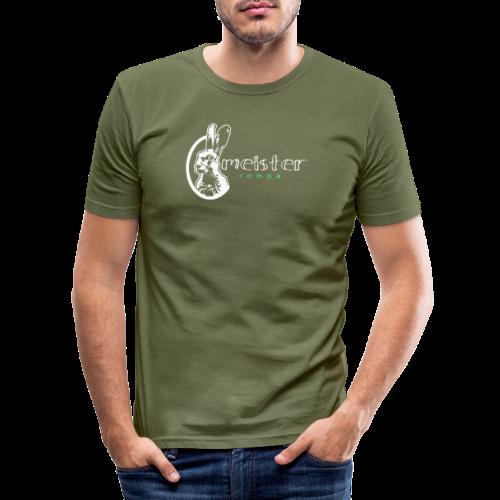 meister lampe - Männer Slim Fit T-Shirt