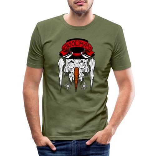 Dead Snowman - Männer Slim Fit T-Shirt