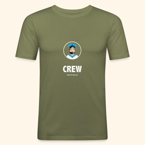 SeaProof Crew - Männer Slim Fit T-Shirt